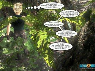 великі сиськи, карикатура, червоне дерево