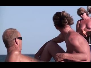 beach, jerking, cock sucking