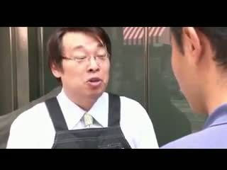 Bosomy jap tiener gets geneukt en facialized