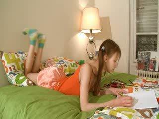 Άτακτος/η homework του έξυπνος teenager