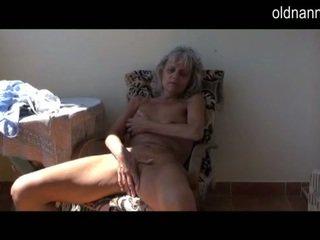 oma, lesbische seks, oud jonge