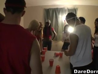 college, party, tiny girl gets huge dick