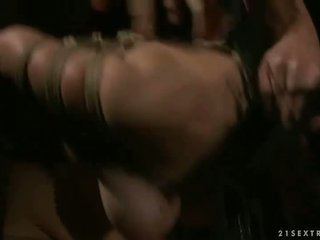 Sex slave being punished and fucked