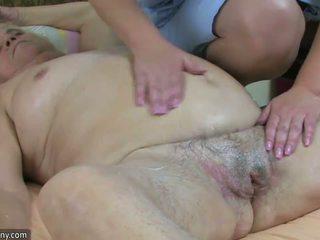 Vet bbw oma hebben seks met mollig rijpere en voorbinddildo hardcore