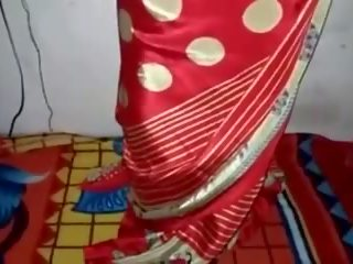 صقيل, silk, saree