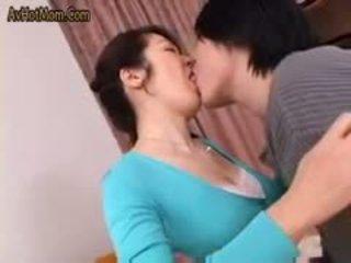 Quente japonesa mãe 49 por avhotmom