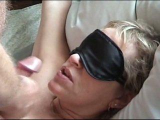 Blindfold bj facial
