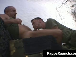 Nasty gay guy gets his stiff cock sucked