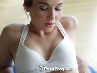 HD PornPros - Kasey Warners workout in...
