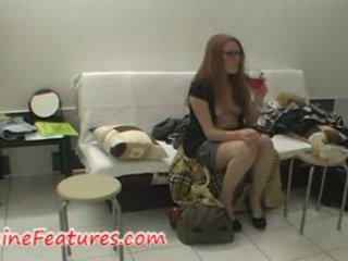 Ono buri layar video with ceko redhead newbie