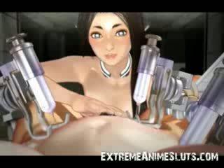 kinky, karikatūra, hentai