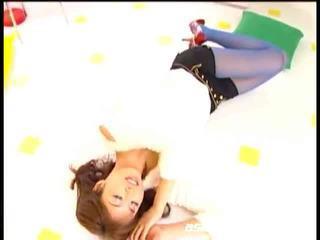 เอเชีย วัยรุ่น engulfing ramrods