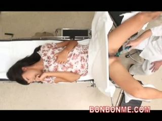 japonec, webcam, lékař