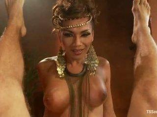 Ts yasmin lee comme cleopatra tsseduction com spécial caractéristique