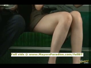 Rio innocent cinese ragazza è scopata su il autobus