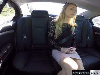 Uber driver busted על ידי cops תוך מזיין נוער sadie.