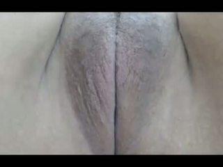 My 18yo cousin's virgin pussy closeup of hymen