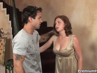 hardcore sex, velike joške, pussy drilling