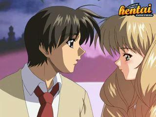 Blonde Anime Gal Got Laid