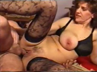 Mbah older women & younger boys creampie gangbang