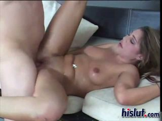 Busty Britney bends over for some sweet loving