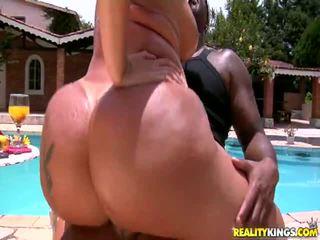 brunette, hardcore sex, booty