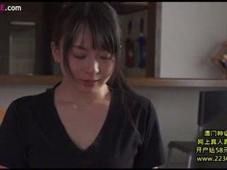 brunetka, japoński, całowanie
