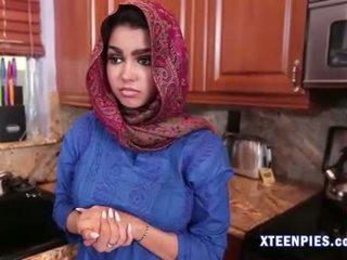 Sexy arab utie ada creampied von groß schwanz nach ficken
