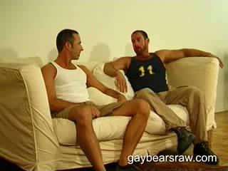 Homo beer mark zuigen groot beer shaft