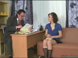 Sensual tutoring with teacher