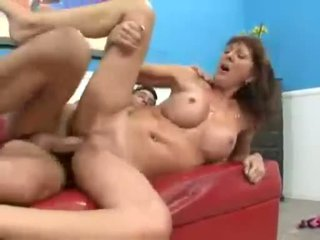 Milf needing cock Desi Foxx gets a big one thrusted up twat