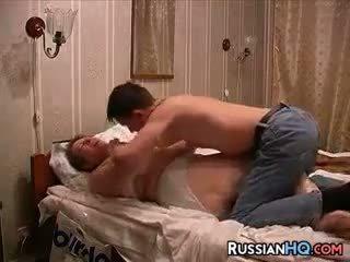 Ρωσικό ζευγάρι κάνω ένα σεξ tape