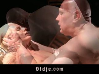 Amazing Young Call Girl Seduces And Fucks Old Guy In A Lascivious Fuck