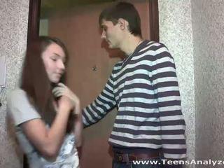 Wiek dojrzewania analyzed: nastolatka sympatia agrees do anal seks