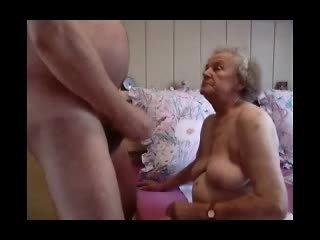 Grandma having fun Video