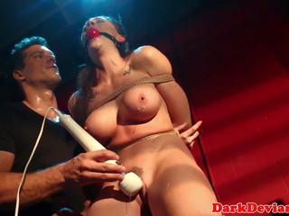 Roped Squirter Roughly Punished by Maledom: Free HD Porn f4
