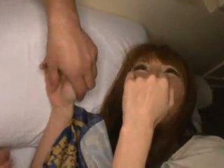 Miku ohashi admires на fellow кръг тя хубав shagging skills