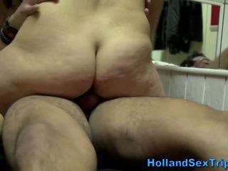 Sexy slet van holland fucks een thrilled toerist