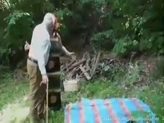 bbw, nagyi, blowjob