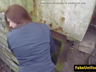 Pickedup skaistule pov fucked ārā līdz netīras policists: bezmaksas porno 98