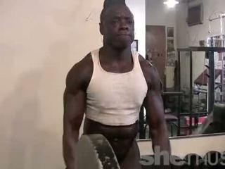 muscular, women, muscles