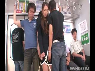 Kinky asian babe facialed
