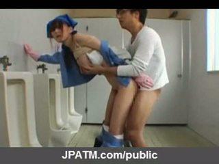 Jepang masyarakat seks - asia remaja exposing di luar part03
