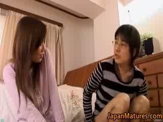 Japonais mature femme has adorable