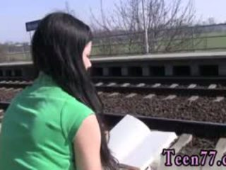 Girl Boy Teen Sex In Public Photo Masturbating At The Train