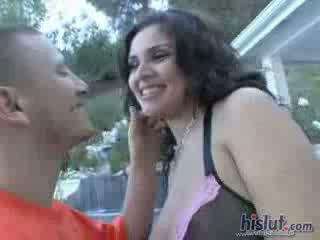 Tidak ada hotter dari having sebuah voluptuous latina hottie dengan besar alam tetek titties melon titties