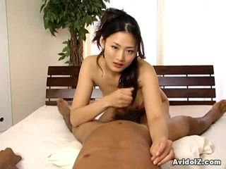 brunette, blow job, japanese