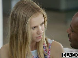 Blacked pisikene blond teismeline rachel james esimene suur mustanahaline riist