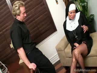 porno, veľký, prsia
