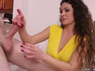 Ov40-naughty step-mom handjob